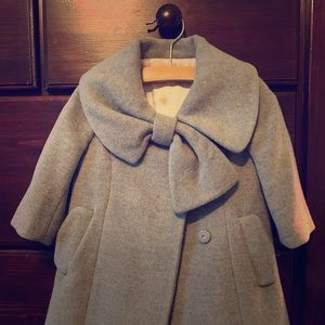 Charming Baby Girl Wool Coat, 12month Size